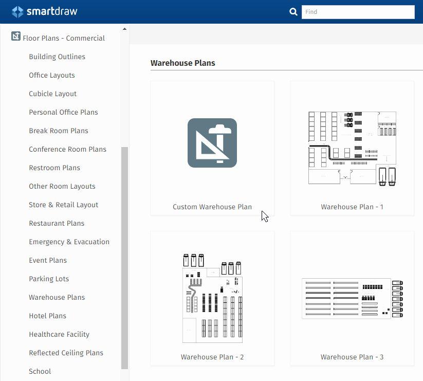 Free Floor Plan Template Fresh Warehouse Layout Design