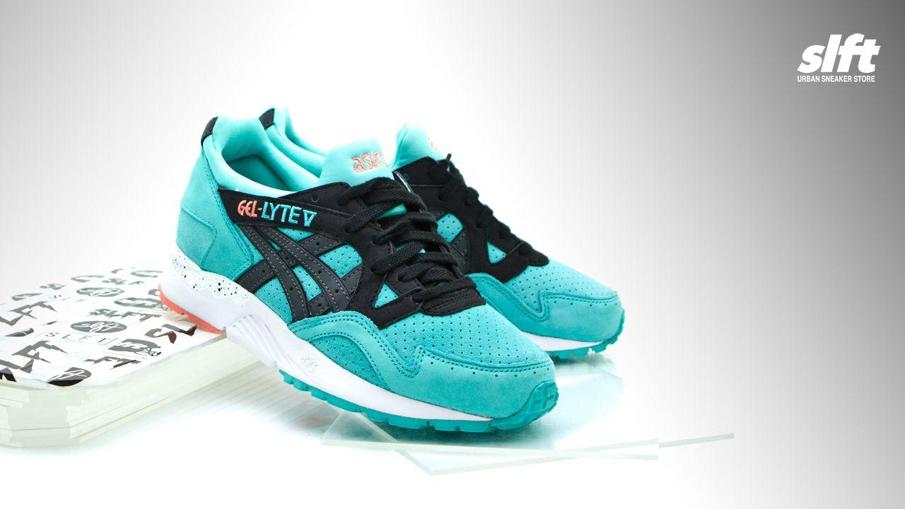 """Der Gel-Lyte V """"Turquoise"""" aus dem ''Miami Pack'' von asics, ab dem 04.02.2016 inStore und onLine auf www.soulfoot.de erhältlich!  Sizerun: EU 36,5 - 46  #asics #gellyte #gl5 #miami #turquoise #sneaker #soulfoot #slft"""