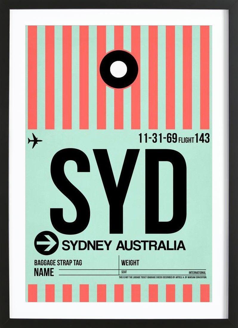 SYD-Sydney von Naxart now on JUNIQE! | Qwerky | Pinterest