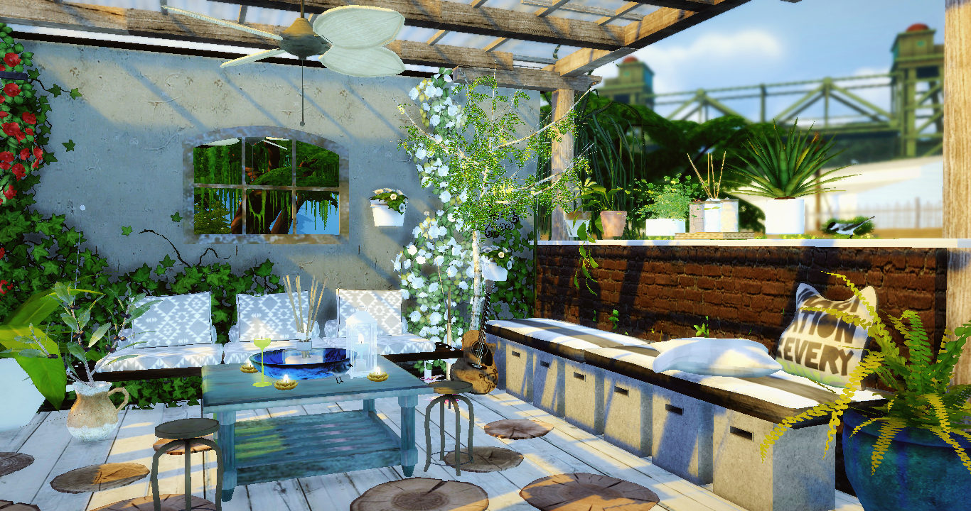 Terrasse 1 Sims4luxury Sims House Sims Building Sims 4