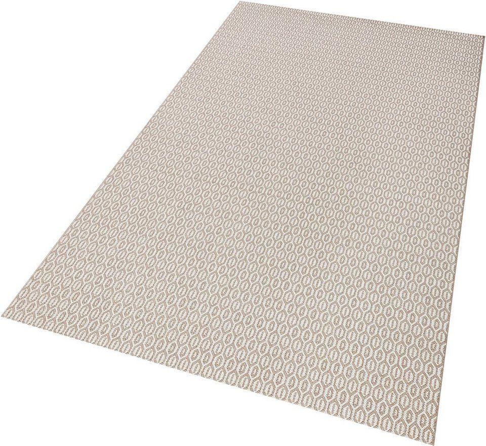 Teppich Coin Bougari Rechteckig Höhe 8 Mm In Und Outdoorgeeignet Sisaloptik Teppich Sisal Textilien