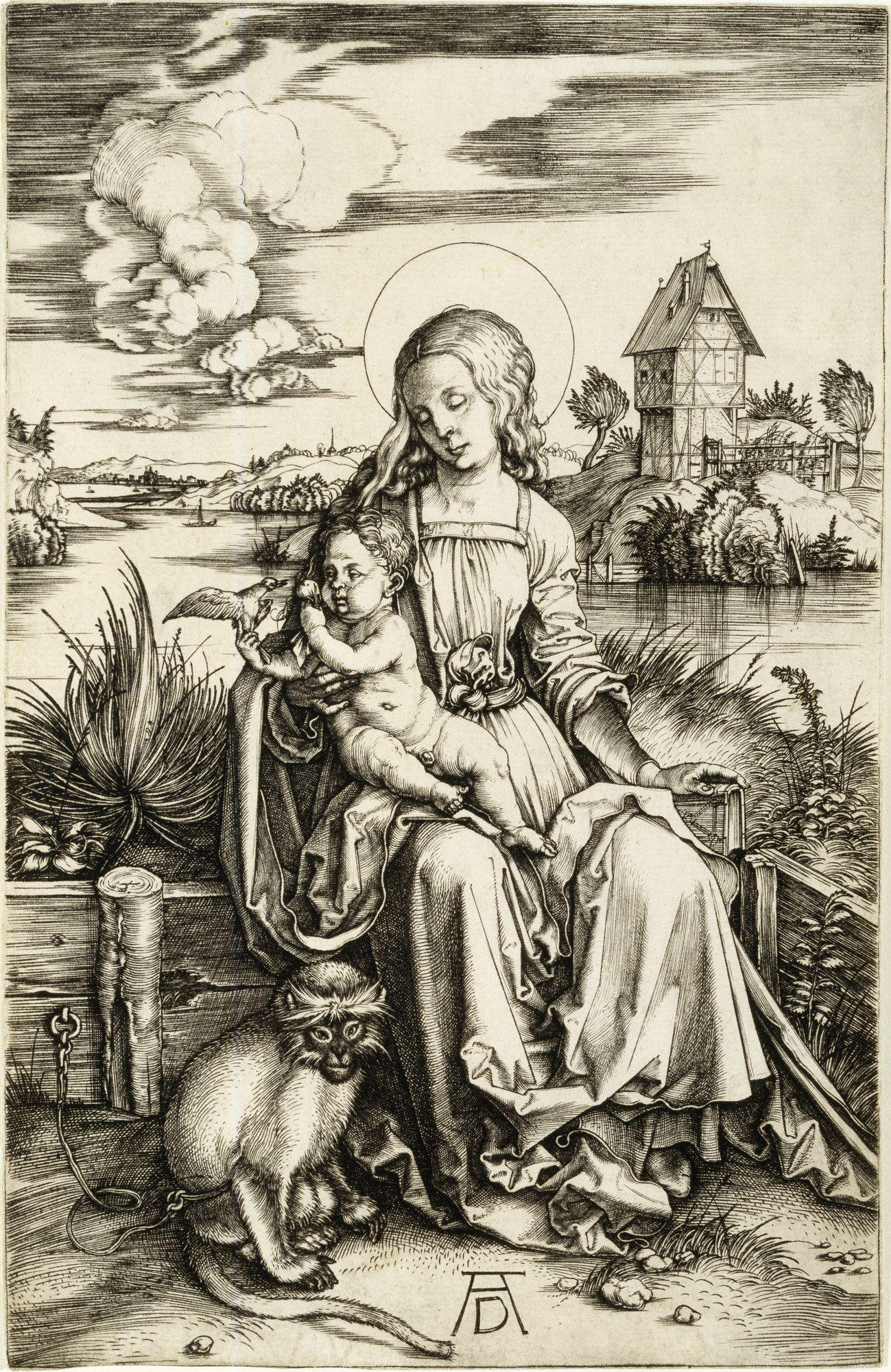 Albrecht Durer Fine Art Print The Death of the Virgin