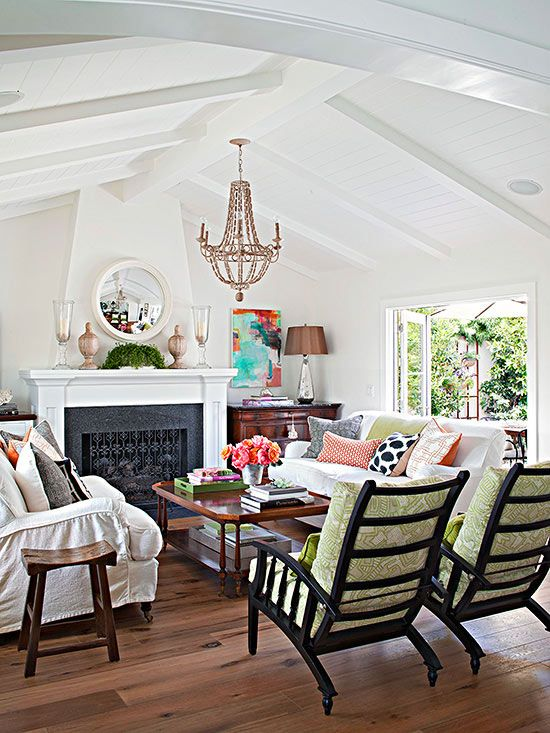 Decorate Your Living Room With Color Step Outside The Box And Add A Burst Of To Space Or Try Whole New Scheme