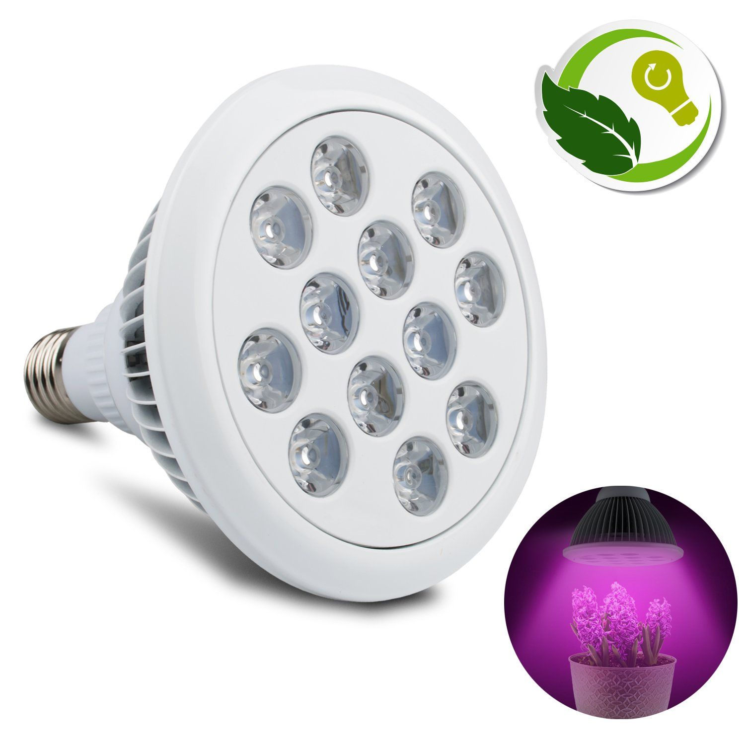 36W LED Plant Grow Light for Indoor Greenhouse Plant Growing Lamp ...