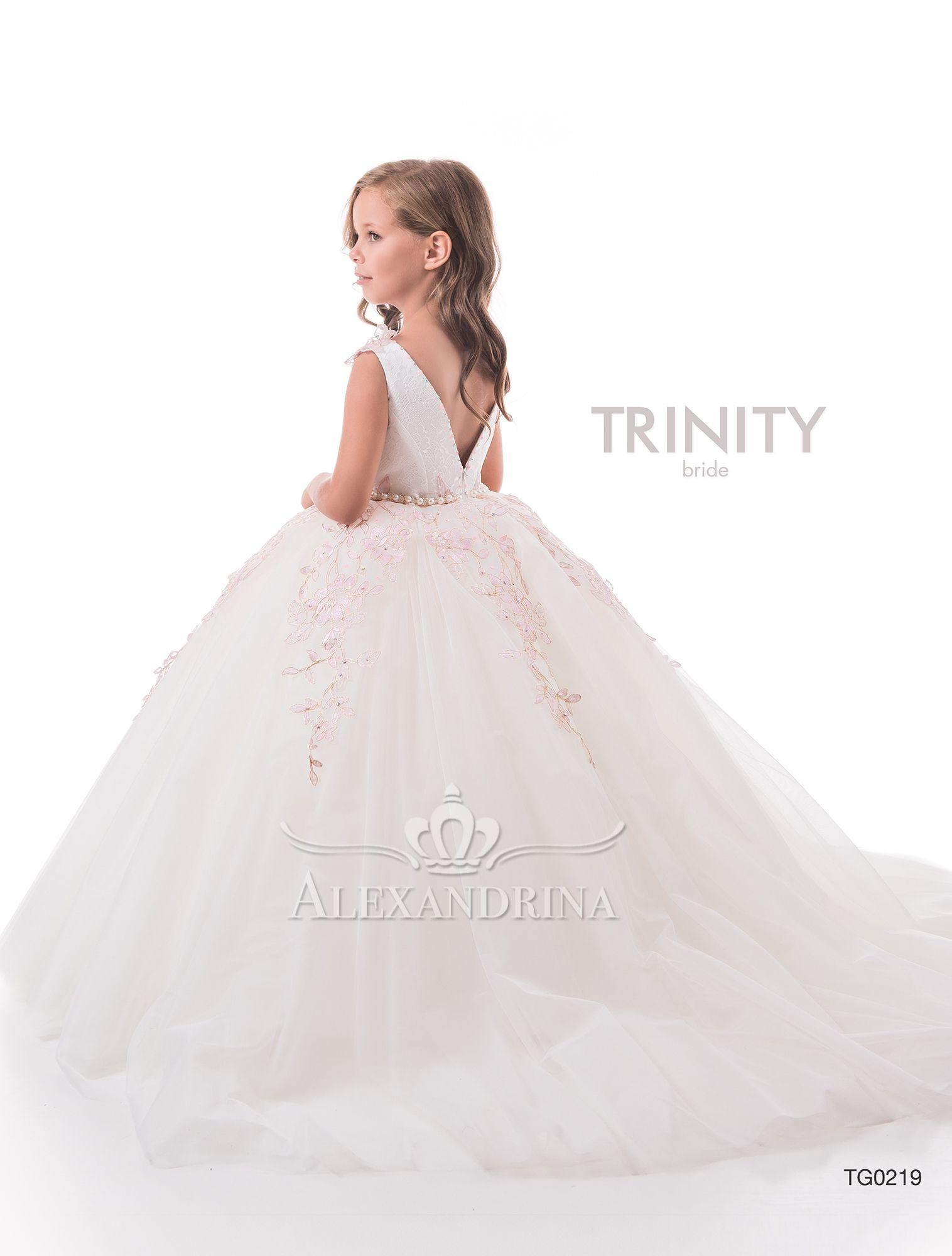«First communion dress» flowergirldress