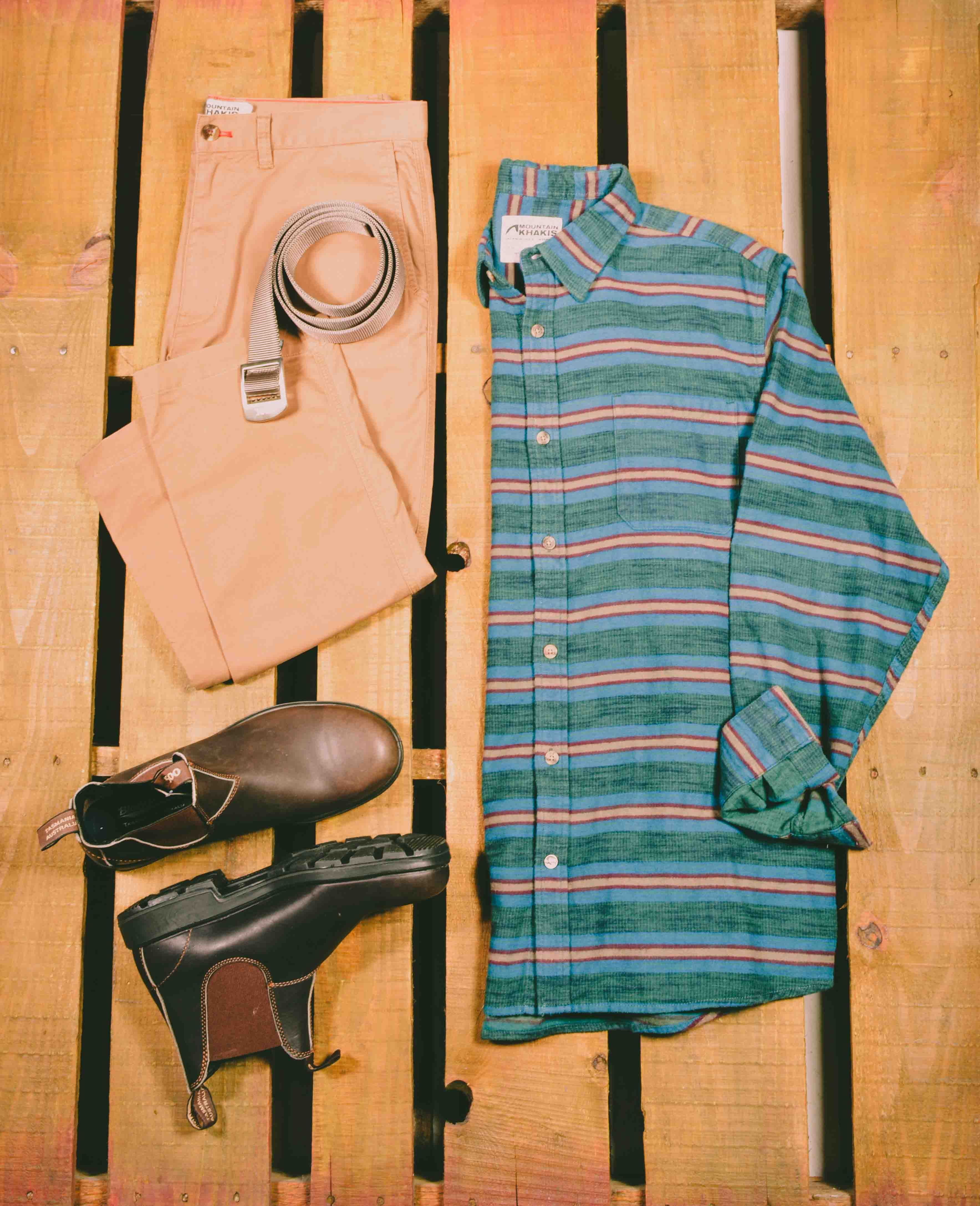 Flannel shirt apron  Our new styles for fall have arrived Shop now and get free shipping