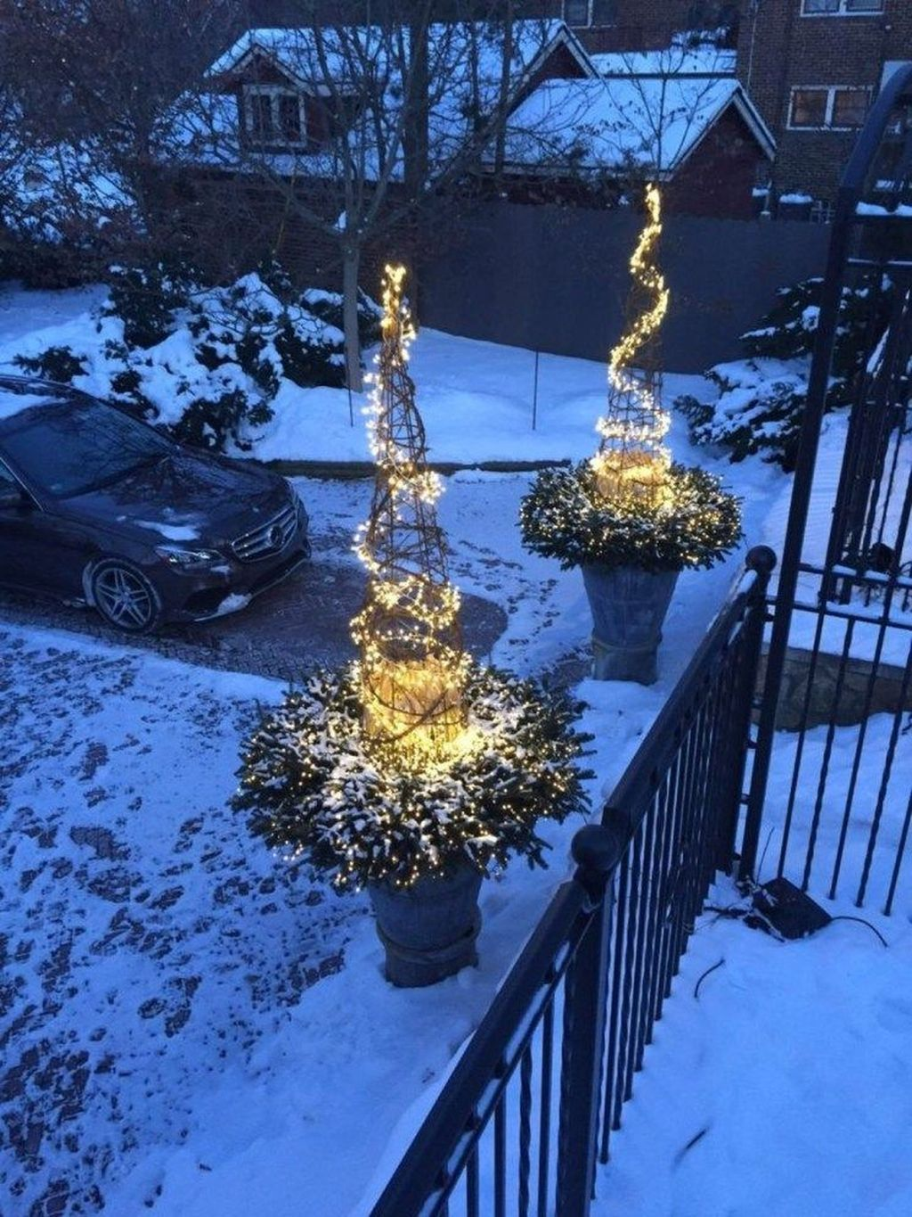 33 Simple Winter Outdoor Decor You Have To Try Winter