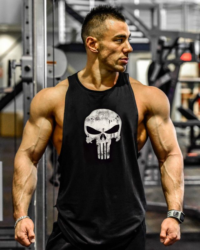 3f8c790050371  8.54 - Gym Men s Muscle Sleeveless Tank Top Tee Shirt Bodybuilding Sport  Fitness Vest  ebay  Fashion