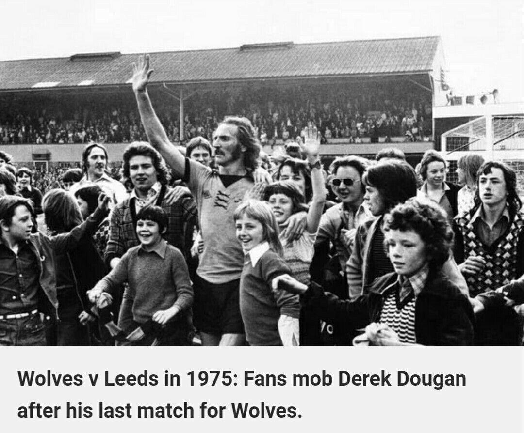 Derek Dougans Last Match For Wolves 1975 Wolverhampton