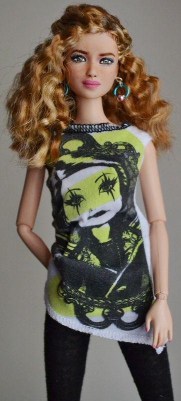 Piper- Divergent Tris Barbie OOAK Repaint by Doll Anatomy