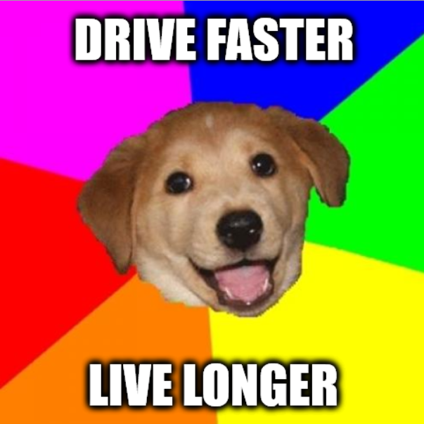 DriveFasterLiveLonger