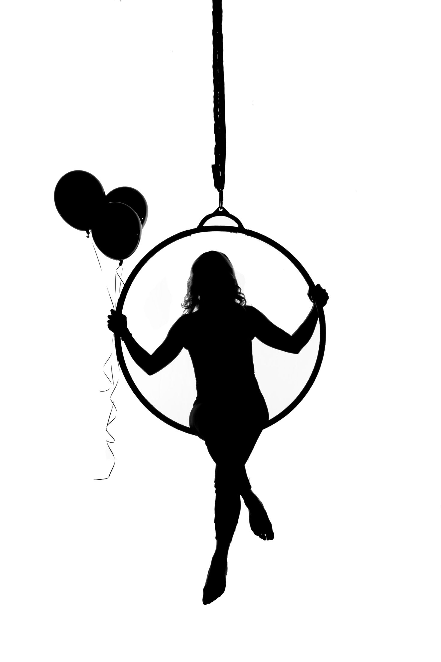 Download Where I'd rather be #PoleDanceSilhouette | Aerial hoop ...