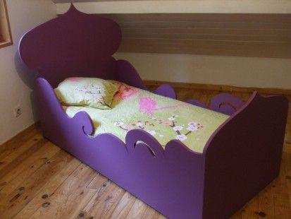 lit enfant fille original et cologique princesse. Black Bedroom Furniture Sets. Home Design Ideas