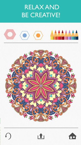 Colorfy Is A Free Coloring App For Ios And Android A Great Calm
