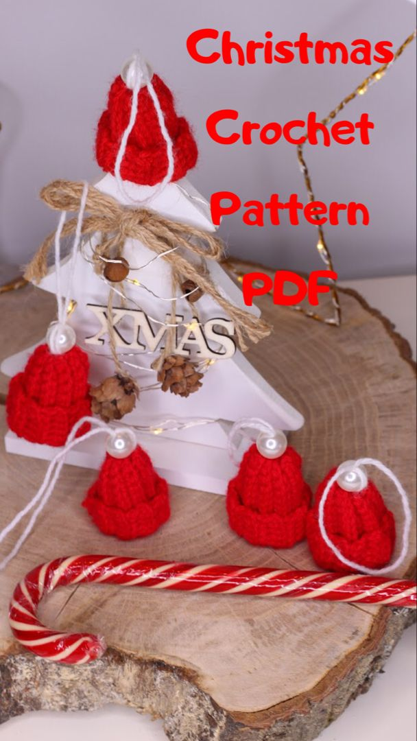 #etsy #crochethat #hatpattern #crochetlove #pdfdownload #tutorialcrochet #christmascrafts #christmashat