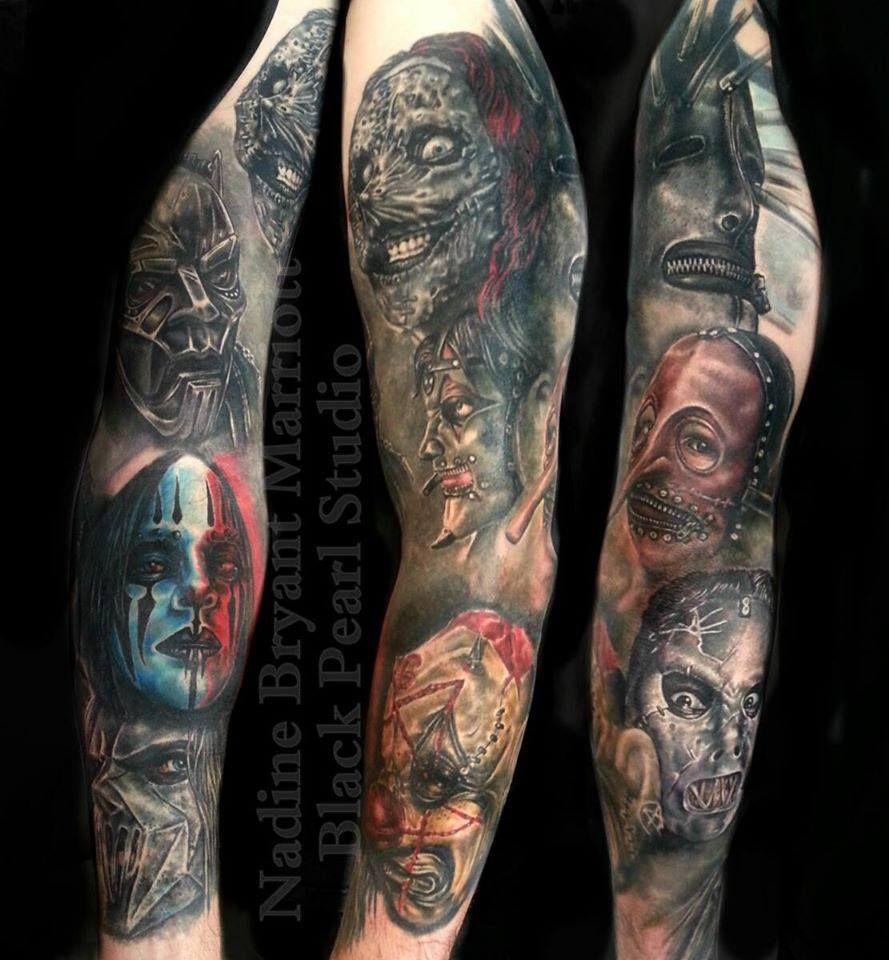 f743765d0 slipknot #sleeve | For Ethan | Slipknot tattoo, Slipknot, Heavy ...