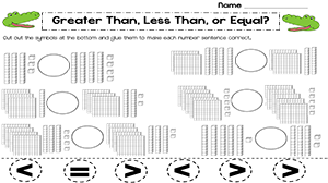 Printables Comparing Numbers Worksheets 2nd Grade comparing numbers worksheets 3rd grade 2nd math 1000 images about and ordering on