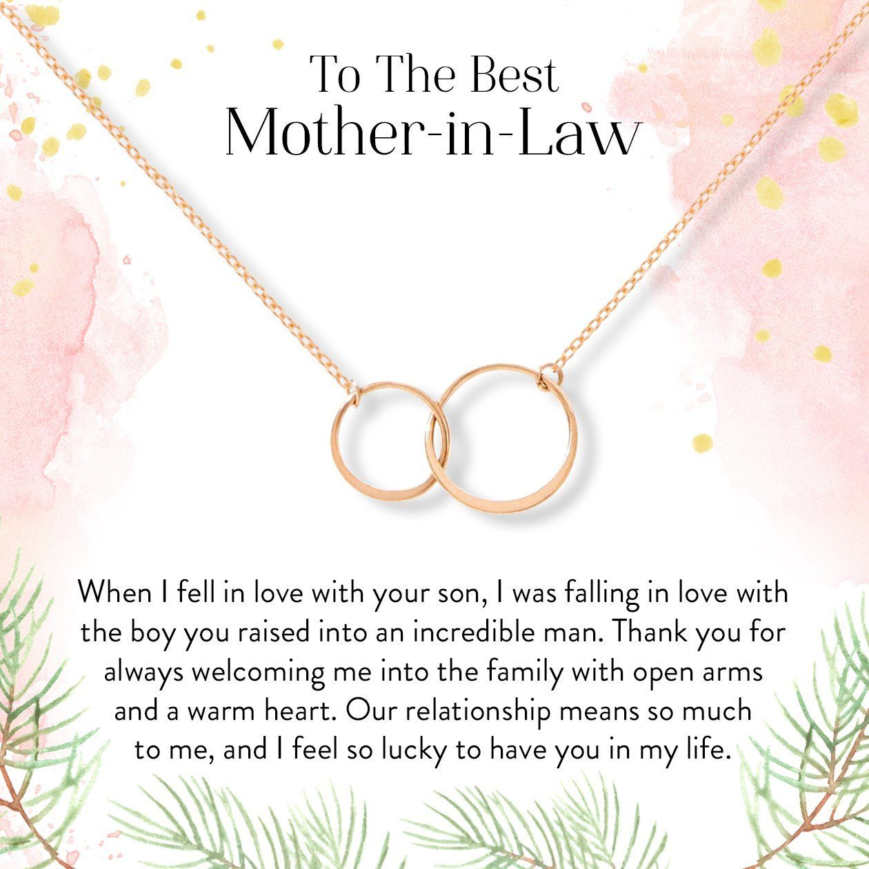 Mother In Law Necklace Multiple Styles In 2021 Mother In Law Gifts Mother In Law Quotes In Law Gifts