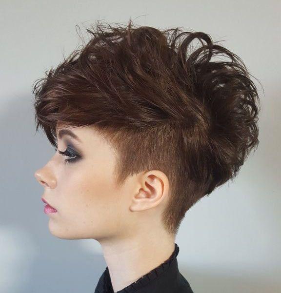 Conosciuto taglio-capelli-corti-mossi-rasato-donna | tagli corti donna 2017  GZ17