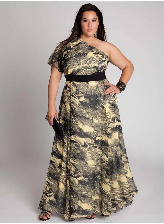 Vestidos de un Solo Hombro hermosa tela de seda en negro y marfil ... 84e9154b59cb