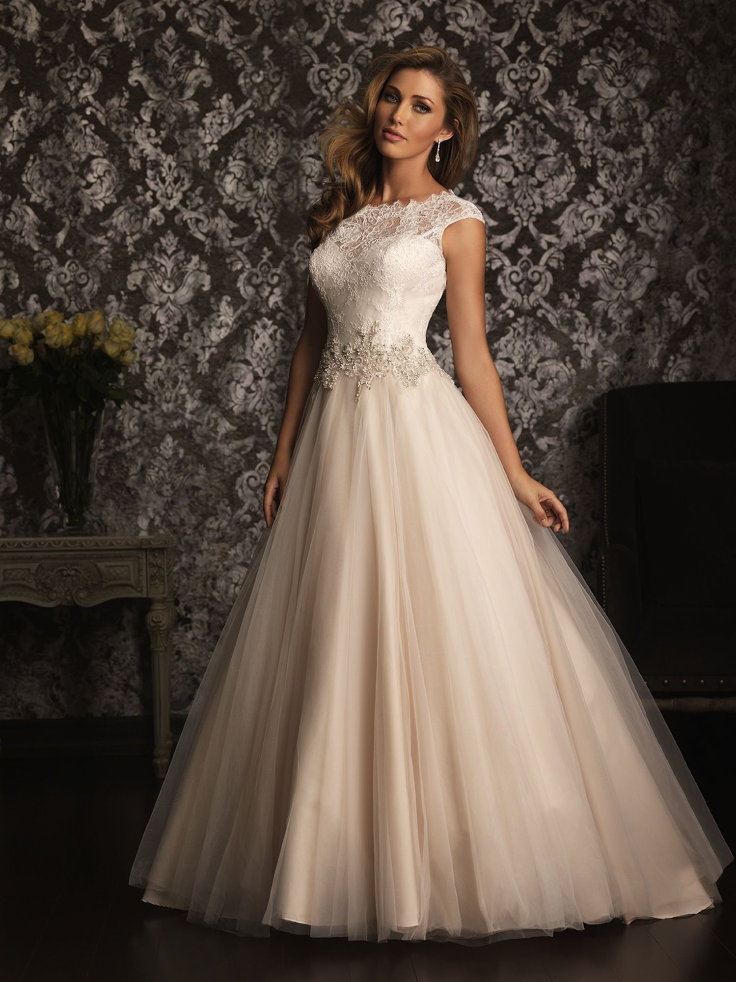 Allure Bridals Wedding Dress Bridal Gown Allure Collection 2013 9022 ...