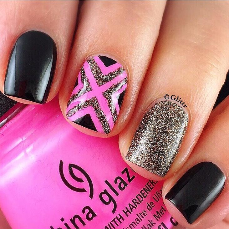 Right Angle Nail Stencils | Nail stencils, Manicure and Accent nails