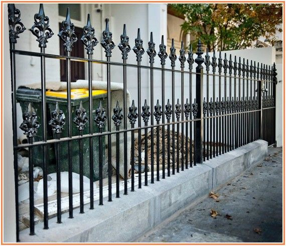 Remarkable Painting Wrought Iron Fence | Wrought iron ...