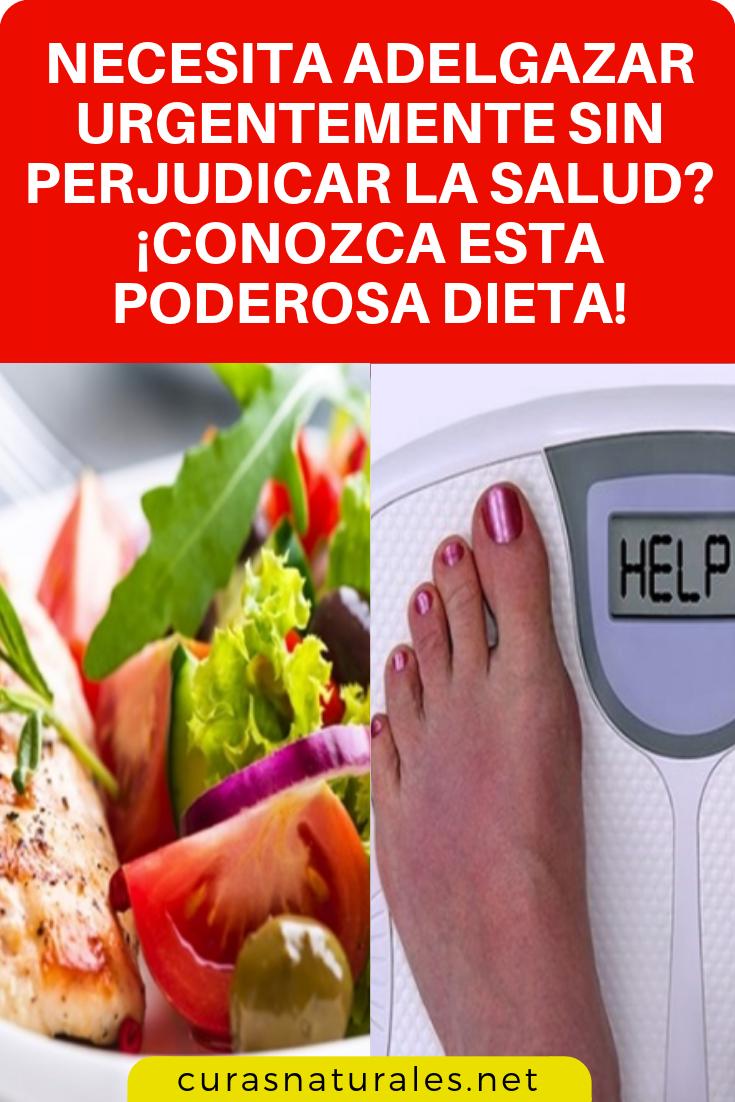 bajar de peso en una semana help