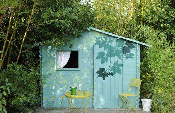 Abri de jardin tristounet à relooker | Cabane jardin, Cabanon et ...