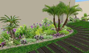 Diseno De Jardines Tropicales Modernos Jardin Pinterest Garden