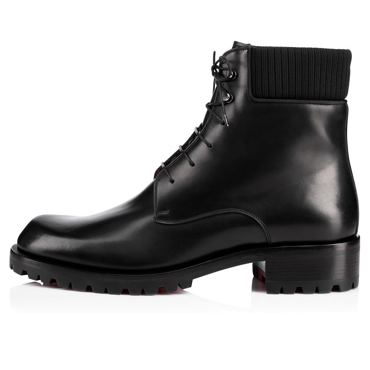 Store Sale Online Discount Purchase Mens Trapman Leather Boots Christian Louboutin Clearance Discount Discounts Online Cheap Authentic Outlet IgyC5H