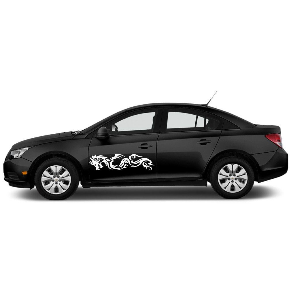 Two Dragons Car Decal Car Stickers Design Dragons Cool Car Decals Dragons Vinyl Graphic Decal Stickers Fo Cool Car Stickers Car Stickers Vinyl Car Stickers [ 1010 x 1010 Pixel ]