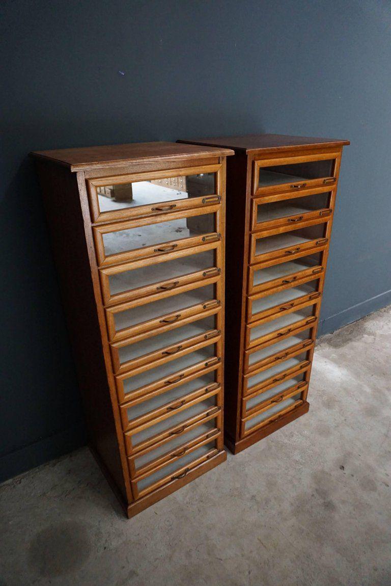 This Vintage Haberdashery Shop Cabinet Originates From The United