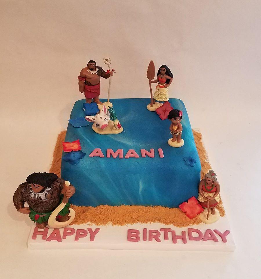 Moana cake moana cake cake baking cupcakes