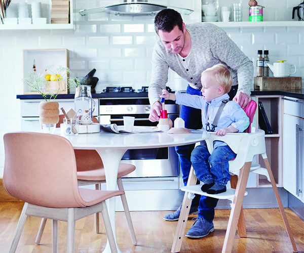 Our favorite part of @STOKKE® Stokke® Steps is that it grows with your child! #babygear #PNapproved