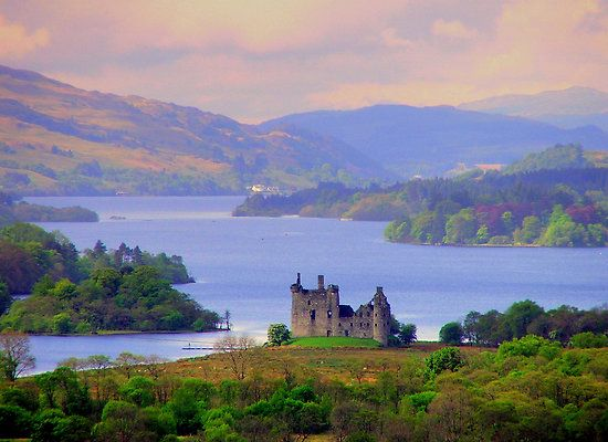 My second dream-vacation choice that I'm not likely to ever see - the Scottish Highlands