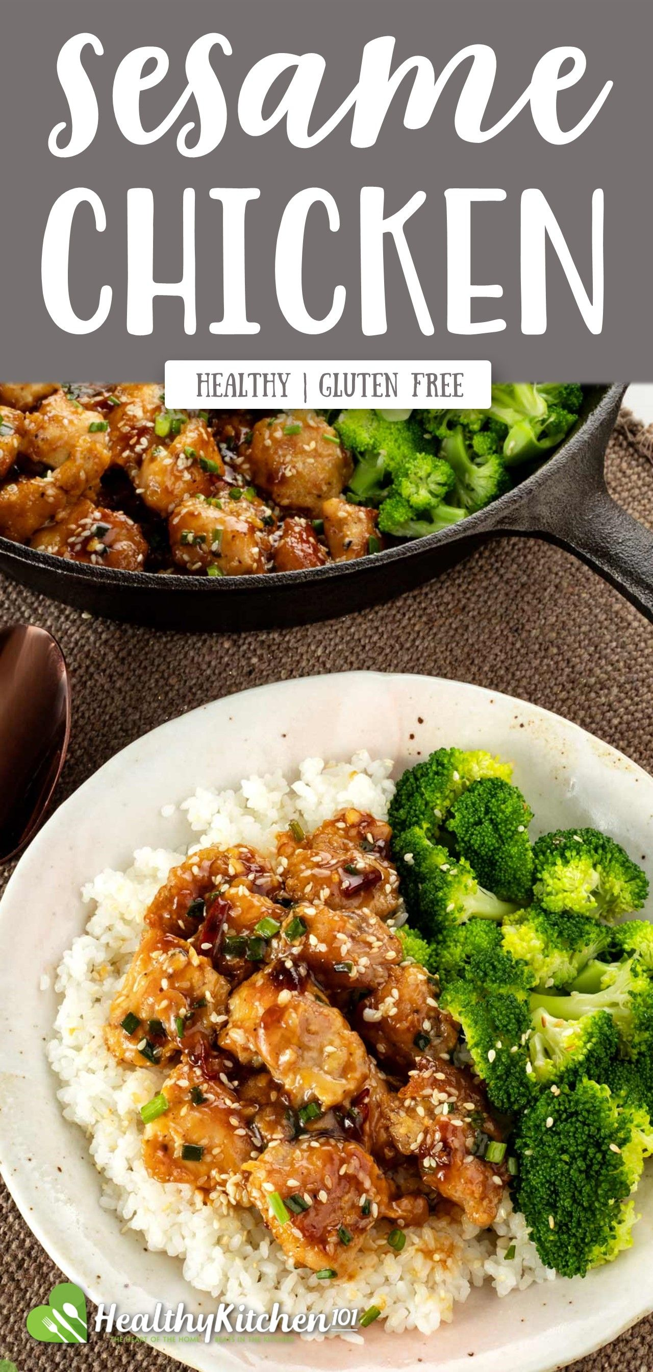 Healthy Eating Sesame Chicken Recipe A Well Known Asian Dish Gluten Free Healthy Chinese Recipes Sesame Chicken Recipe Healthy Chicken Recipes