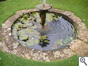 Fontaine centrale | bassin | Pinterest | Central, Fontaine jardin et ...