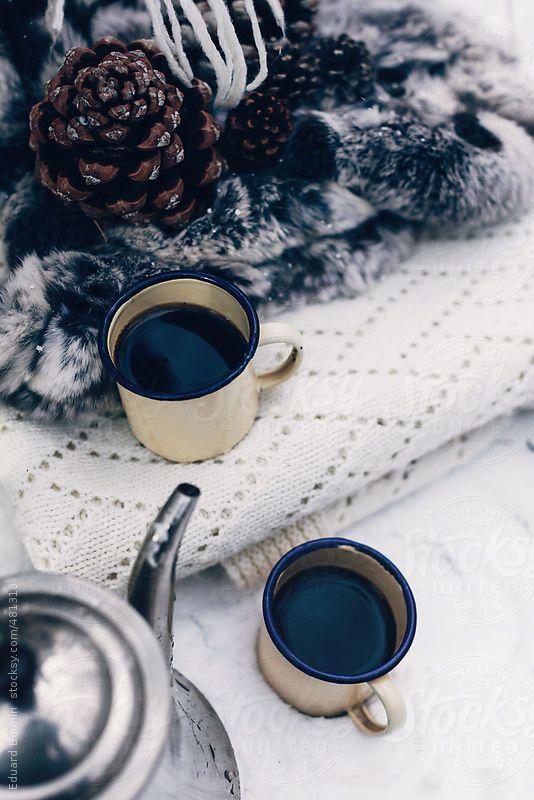 Winter Coffee By Eduard Bonnin Winter Coffee Coffee Type Coffee Infographic