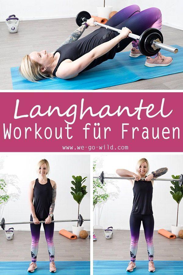 fitness Mit Langhantel Übungen für Frauen kannst du schnell Muskeln aufbauen und fit werden. Wir