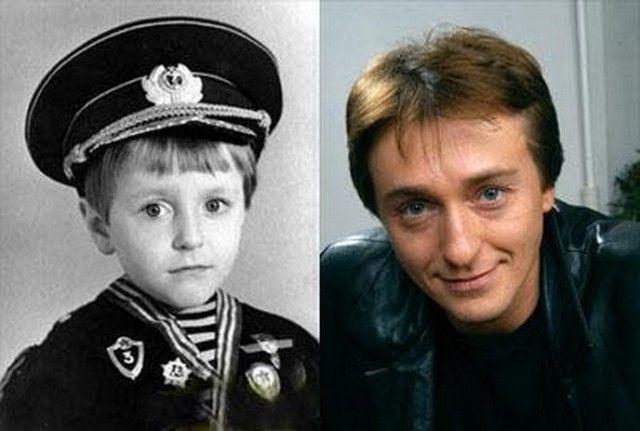 актеры в молодости и сейчас фото россии ребенка день рождения