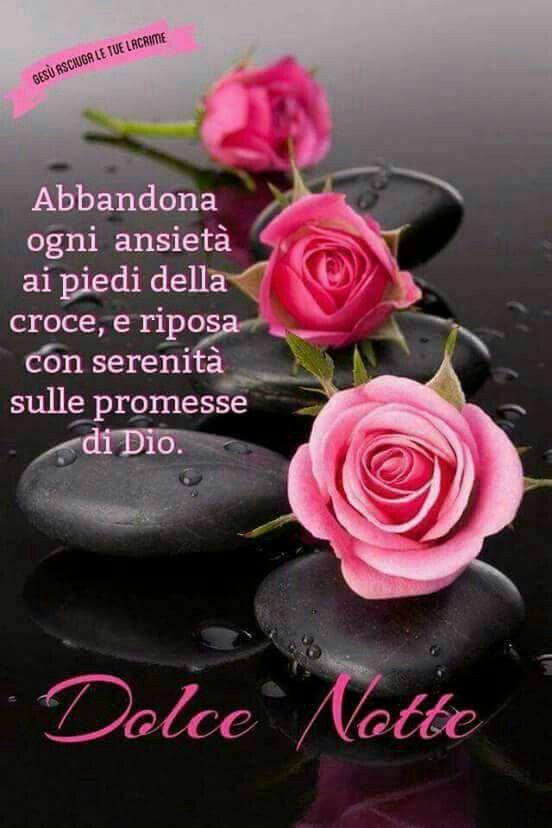 Pin tillagd av Bruna Ballesio på buonanotte con Dio