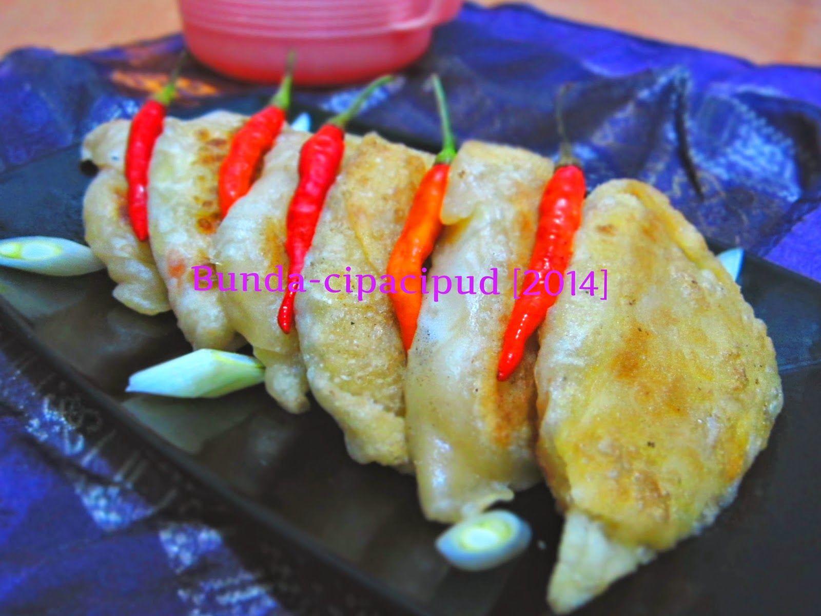 Yukk Menjadi Chef Rumahan Happy Cooking Martabak Segitiga Isi Bihun Makanan Dan Minuman Makanan Resep