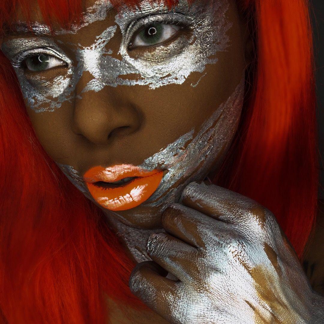 Silver powder Mehron Makeup videos