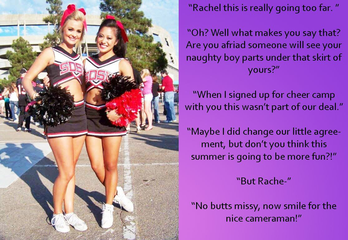 Lesbian cheerleader story