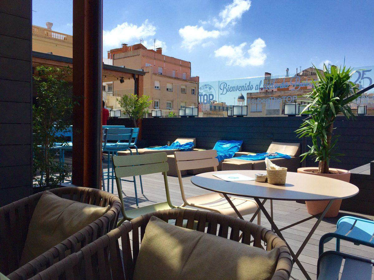 Toit Terrasse Barcelone Gallery Hotel Barcelona Welcoming Rooftop Terrace Warwickhotels