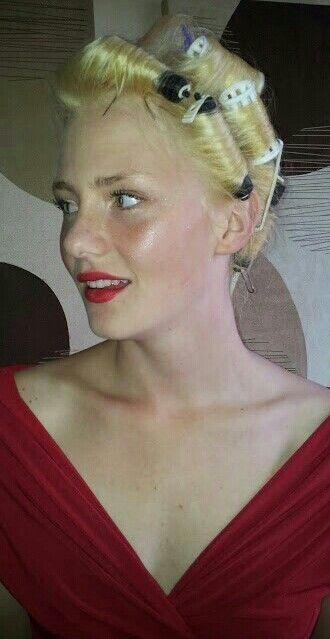 Emily Prom Make up.