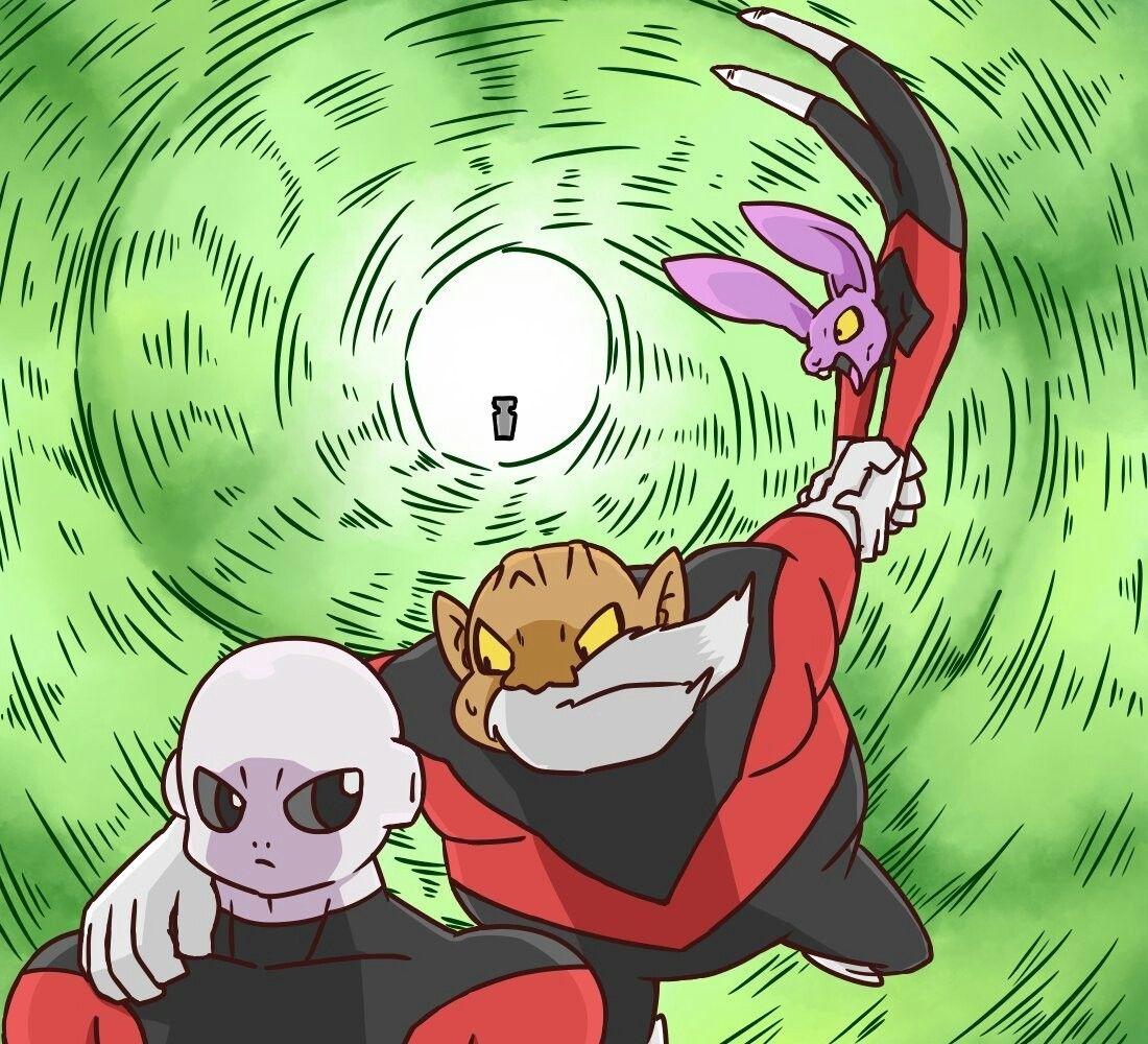 Dyspo Toppo Jiren Dragon Ball Super Art Dragon Ball Super Manga Dragon Ball Super Artwork