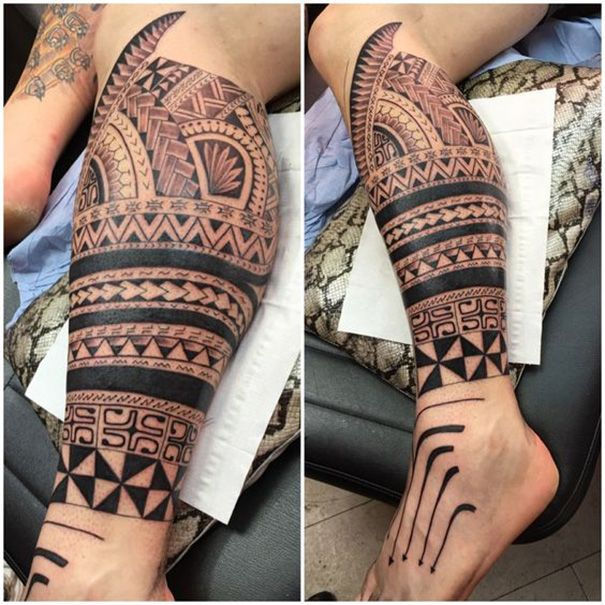 Maori Tribal Tattoo Zu Fuss Tattoo Maorie Tattoo Tattoo Ideen