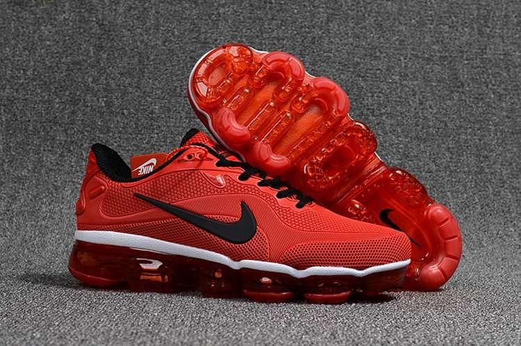 Cheap men 2018 nike air max kpu shoes black red Nike air